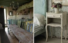 convierte tus muebles viejos en reliquias vintage con las pinturas chalk paint