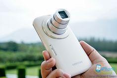 พรีวิว Samsung Galaxy K Zoom สัมผัสแรกกับสมาร์ทโฟนเลนส์ซูม 10 เท่า | iPhone-Droid