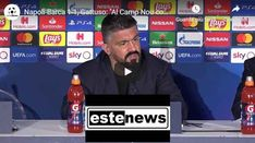 Napoli-Barca Rino Gattuso: Al Camp Nou con elmetto e armatura – VIDEO Camp Nou, Torino, Champions League, Video, Nissan