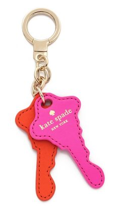 #Gifts for your Grab Bag Party | Kate Spade New York Things We Love Keys Key Fob