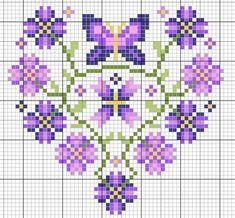 Brilliant Cross Stitch Embroidery Tips Ideas. Mesmerizing Cross Stitch Embroidery Tips Ideas. Butterfly Cross Stitch, Cross Stitch Heart, Cross Stitch Borders, Cross Stitch Flowers, Cross Stitch Designs, Cross Stitching, Cross Stitch Embroidery, Embroidery Patterns, Cross Stitch Patterns