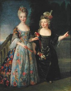 """""""Catherine-Eleonore de Bethisy (1707-67), and her Brother, 1713-1715, by Alexis Simon Belle"""