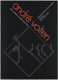 Wim Crouwel – André Volten reliëfs plastieken modellen 1966-1976 Bron: TD00159 #totaldesign