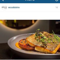 Fish of the day at @eccobistro with smoked sweet potato onion and capers all singing deliciously on our ash shaded plate.  #sixshadessixshapes #gth2015 #handcrafted #organic #dining #cooking #chef #ceramic #australianmade #chefsofinstagram #chefstalk #instachef #instafood #tableware #tabletopmatters #platelyf #design #theplateproject #restaurant #theartofplating #gastronomy #chefslife #cookwellcoalition by gthomewares