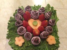 Fresas/chocolate