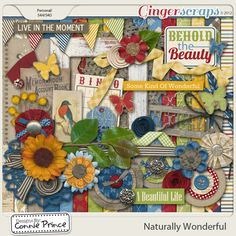 Naturally Wonderful - Kit by Connie Prince