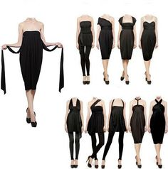 infinity dress- Here are some other ways to wear it that I've not seen before