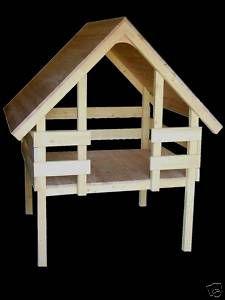 PLANS DE CABANE maisonnette de jardin enfants en bois FABRICATION FACILE+TRANSAT