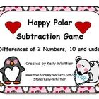 $ Penguins and polar bears- oh my!  Happy Polar Subtraction is a fun way to practice differences of two numbers that are 10 and under!Students sele...