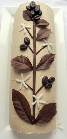 bûche - coffee by distopiandreamgirl, via Flickr