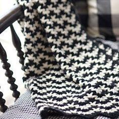 Vintage Crochet Blanket by Churchmouse Yarns & Teas