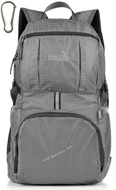 LARGE35L Outlander Packable Lightweight Travel Hiking Backpack Daypack New  Grey -- You can get more af57d52107ad9