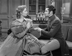 Laurence Olivier and Greer Garson in Pride and Prejudice