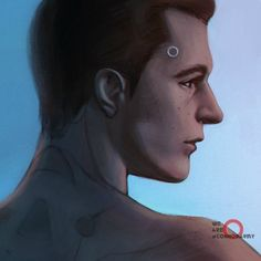 Detroit: become human Connor By: marifinch (6414)