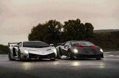 Lamborghini Veneno and Sesto Elemento side to side Lamborghini Veneno, Most Expensive Lamborghini, Ferrari, Maserati, Sesto Elemento, Car Guide, Car Mods, Sport Cars, Cars And Motorcycles
