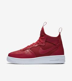 quality design 1a18a 80125 Nike Air Force 1 Ultra Force Mid  Gym Red   White