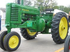 "JOHN DEERE TRACTOR...1st Tractor I ever drove, at the age of 5. Great Tractor to ""pop wheelies"" with! Good ole' days!"