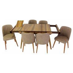 Set masa living Vegas Nuc cu scaune cafea Vegas, Doors, Coffee, Interior, Table, Furniture, Home Decor, Kaffee, Decoration Home