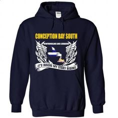 Conception Bay South - Its Where My Story Begins! - #t shirts #cheap shirts. SIMILAR ITEMS => https://www.sunfrog.com/No-Category/Conception-Bay-South--Its-Where-My-Story-Begins-9926-NavyBlue-Hoodie.html?id=60505