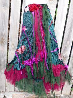 20%OFF gothic bohemian skirt bohemian shabby skirt lace