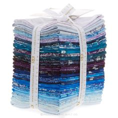 Artisan Batiks - Noel Metallic Fat Quarter Bundle - Lunn Studios - Robert Kaufman