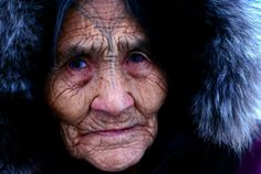 "Neeveeovak Marqniq in Kugaaruk - in documentary film ""Nuliajuk: Mother of the Sea Beasts"""