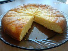Tvarohovo citrónový koláč