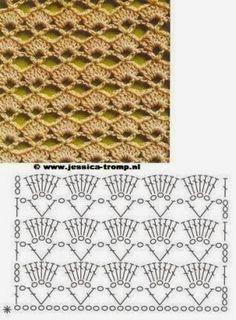 Crochet beautiful and luxurious feminine dress. Free patterns for crochet dress Crochet Diy, Crochet Motifs, Crochet Diagram, Crochet Stitches Patterns, Crochet Chart, Love Crochet, Beautiful Crochet, Crochet Designs, Crochet Summer