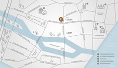 map - Anfahrtsskizze – ELLIJOT – Werbeagentur Stationery Design, Branding Design, Map Diagram, Business Card Design, Creative Business, Business Cards, Information Design, Dashboard Design, Map Design