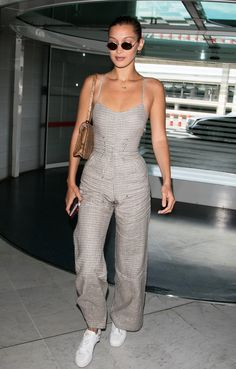 In A Reformation Jumpsuit - In Paris, 2017