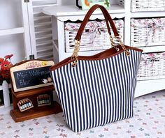 Striped Tote Bag | FREE SHIPPING!
