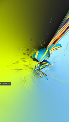 Impulse. Abstract work of my own!, visit my sites guys!, within my Behance or Facebook you will find more of my sites!  https://www.behance.net/Atsuko https://www.facebook.com/atsuko.artwork  #abstract #colorful #colors #3d #vector #composition #psychedelic #art #drawgins #graphics