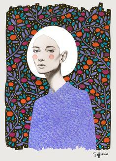 LISA Art Print by Sofia Bonati | Society6