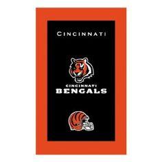 Amazon.com : Cincinnati Bengals NFL Licensed Towel by KR : Sports Fan Hand Towels : Sports & Outdoors