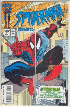 Title: Spider-Man Unlimited   Year: 1993   Publisher: Marvel   Number: 7   Print: 1   Type: Regular   TitleId: b96aee69-fed1-4a59-ad2b-46ae7907b370