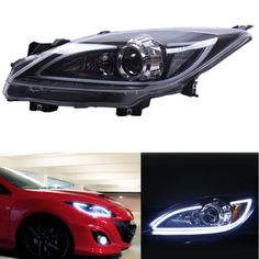 949.99$  Buy now - http://ali0bz.shopchina.info/1/go.php?t=32811309707 - High quality Xenon Headlight For Mazda 3 2010-2013 With LED DRL And Ballast  #buymethat