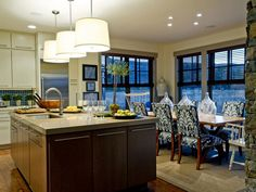 Likeable Kitchen And Dining Room Combinations (2)