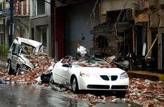 #10yearsago: HURRICANE DAMAGE--COLLAPSED BUILDINGS, MASSIVE FLOODING   NOLA.com