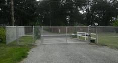 Chain Link Fence chainlink fencing, black vinyl chainlink House-Painting Tips Seasons wreak havoc on House Painting Tips, Chain Link Fence, Professional Painters, Outside World, Cool Paintings, Cleaning Solutions, Fencing, How To Run Longer, Exterior