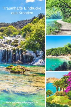 Croatia is located east of the Adriatic Sea, has a 2000 kilometer long coastline . Hotel Mallorca, Travel Around The World, Around The Worlds, Europa Tour, Places To Travel, Places To Go, Swimming Pigs, Adriatic Sea, Europe Destinations