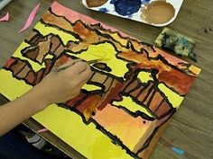 teaching perspective: this one is for the Grand Canyon, but I wonder if I could do it with our Bisti Badlands...