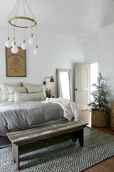A collection of beautiful spaces and inspiration for every room in your home! #beautifulspaces #inspiration #modernfarmhouse
