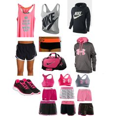 Cute work out clothes is motivation enough!
