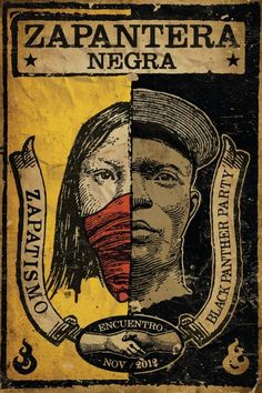 Arte es Vida! Please support the exchange between Emory Douglas, Minister of Culture, Black Panther Party for Self Defense and Zapatista Mayan communities to make art.