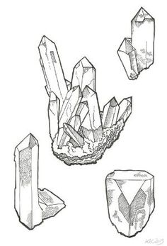 how to draw crystals - Google Search by petra