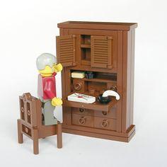 Lego Furniture by Brickshelf user mijasper http://www.brickshelf.com/cgi-bin/gallery.cgi?f=133999