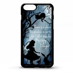 Alice in wonderland pretty quote phrase by LikeYourFaceCases