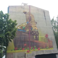 Birdy by Sainer ETAMCru #mural #streetart #contemporaryart #trafficdesignfest #Gdynia