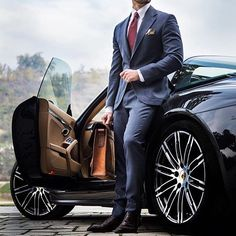 A well tailored suit is to women what lingerie is men.