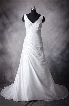 Made-to-order gown - Boned and fully lined , build in bra cups. Lace-up, corset back closure, can also be made with a zipper back instead. It will take 15-20.. http://www.jewelrygeet.com/